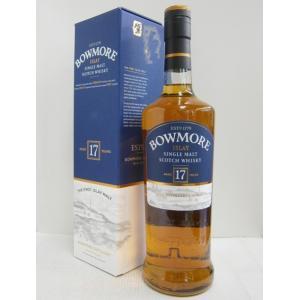 ボウモア 17年 43% 750ml  ウイスキー|sakenochawanya