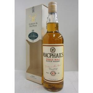 GM マクファイル 10年 40% 700ml ウイスキー|sakenochawanya