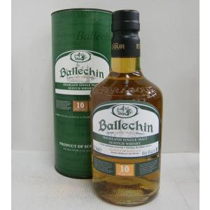 バレッヒェン 10年 正規 46% 700ml シングルモルトスコッチウイスキー sakenochawanya