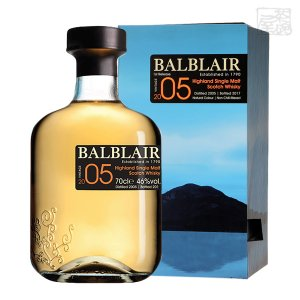 バルブレア 2005 並行 46% 700ml シングルモルトスコッチウイスキー sakenochawanya