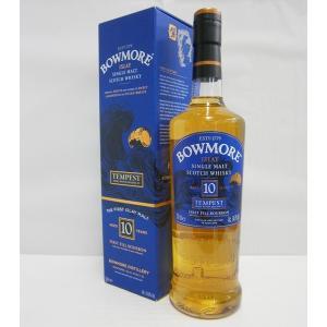 ボウモア10年テンペストバッチ6 並行 54.9% 700ml シングルモルトスコッチウイスキー|sakenochawanya