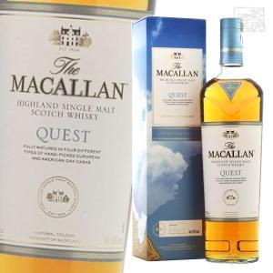 ザ・マッカラン クエスト 40% 700ml クエスト・コレクション 並行 シングルモルトスコッチウイスキー|sakenochawanya