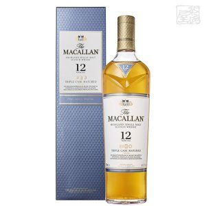 ザ・マッカラン トリプルカスク 12年 40度 700ml 並行 シングルモルトスコッチウイスキー|sakenochawanya