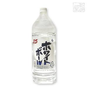 江井ヶ嶋ホワイトボール 25度 4000ml ペットボトル 焼酎|sakenochawanya