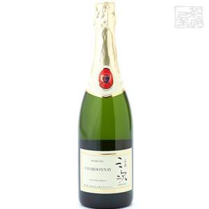 広島三次ワイナリー シャルドネ スパークリング 750ml 白泡ワイン 辛口|sakenochawanya