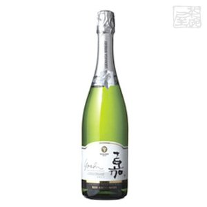 高畠ワイン 嘉 スパークリング シャルドネ 750ml 白泡ワイン 辛口|sakenochawanya