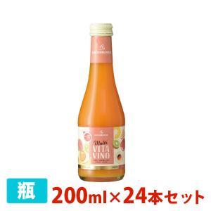 マルチ・ヴィタ・ヴィーノ ドクター・ディムース フルーツワイン 5.5度 200ml 24本セット|sakenochawanya