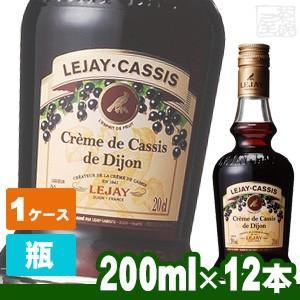 ルジェ クレーム ド カシス 20度 200ml 12本セット ケース リキュール|sakenochawanya