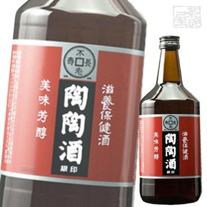 陶陶酒 銀印 甘口 12度 1000ml リキュール 健康酒|sakenochawanya