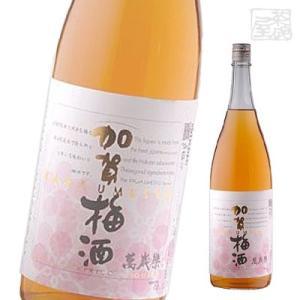 萬歳楽 加賀梅酒 14度 1800ml リキュール 梅酒|sakenochawanya