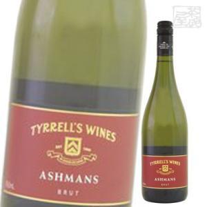ティレルズ アシュマン ブリュット 白 スパークリングワイン 11.5度 750ml sakenochawanya