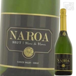 ナロア ブリュット ブラン ド ブラン 白 スパークリングワイン 12.5度 750ml|sakenochawanya