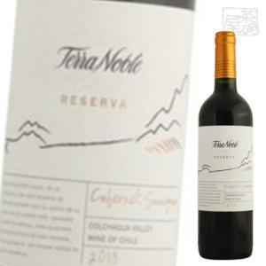 テラノブレ カベルネソーヴィニヨン レセルバ 赤ワイン 13.5度 750ml|sakenochawanya