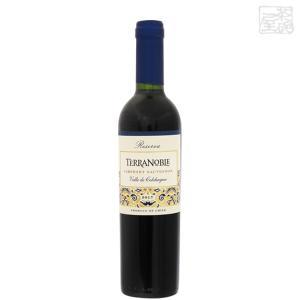 テラノブレ カベルネソーヴィニヨン レセルバ テロワール 赤ワイン 13.5度 375ml|sakenochawanya