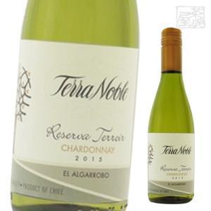 テラノブレ シャルドネ レセルバ テロワール 白ワイン 13.5度 375ml|sakenochawanya