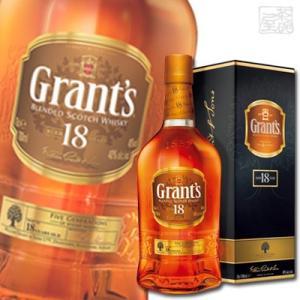グランツ 18年 40度 700ml 正規 ブレンデッドスコッチウイスキー|sakenochawanya