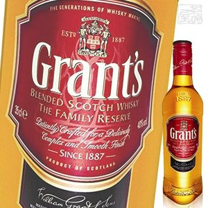 グランツファミリーリザーブ 40度 350ml ハーフサイズ 正規 ウイスキー|sakenochawanya