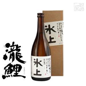 純米吟醸 瀧鯉 氷上 15度 720ml 日本酒 sakenochawanya