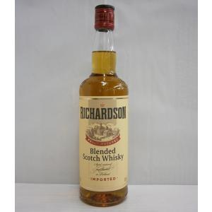 リチャードソン 40% 700ml ブレンデッドスコッチウイスキー sakenochawanya