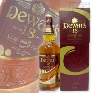 デュワーズ 18年 ダブルエイジド 40度 700ml 並行 箱付き ウイスキー|sakenochawanya