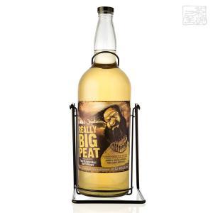リアリー ビッグピート ダグラスレイン ブレンデッドモルトウイスキー 並行 46% 4500ml (4.5L) クレードル付き|sakenochawanya