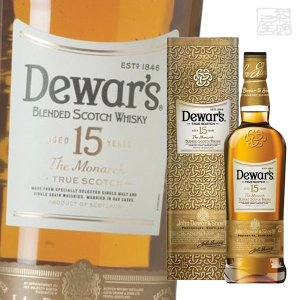 デュワーズ 15年 40度 750ml 正規 箱付き ブレンデッドスコッチウイスキー|sakenochawanya