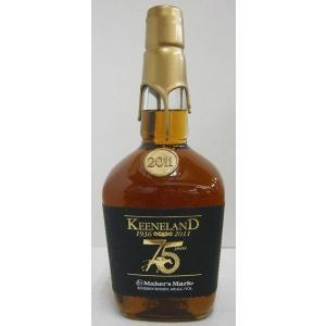 メーカーズマーク キーンランド2011 45% 1000ml バーボンウイスキー sakenochawanya