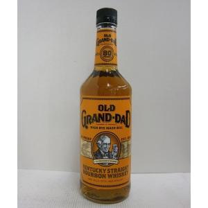オールドグランダッド 80P 並行 スリムボトル 40% 750ml バーボンウイスキー sakenochawanya