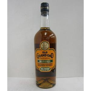 オールドグランダッド ボンデッド 100P スリムボトル 並行 50% 750ml バーボンウイスキー sakenochawanya