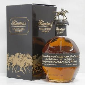お守りにも ガッツポーズブラントン ブラック 正規 40% 750ml バーボンウイスキー|sakenochawanya
