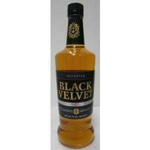 ブラックヴェルヴェット 40% 750ml BLACK VELVET sakenochawanya