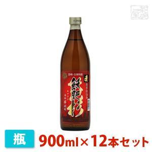 井上 飫肥杉 赤 芋 900ml 12本セット 井上酒造 焼酎 芋|sakenochawanya