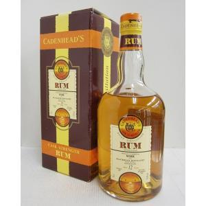 ケイデンヘッド ブラックロック バルバドス12年 73.4% 700ml ラム酒|sakenochawanya