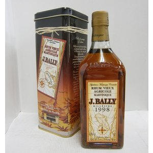J.バリー ミレジム 1998 43% 700ml ラム酒 sakenochawanya