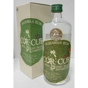 南大東島の国産ラム コルコル アグリコール 40% 720ml ラム酒 sakenochawanya