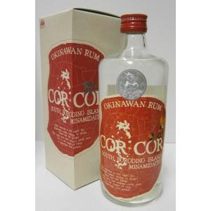 南大東島の国産ラム コルコル 40% 720ml ラム酒 sakenochawanya