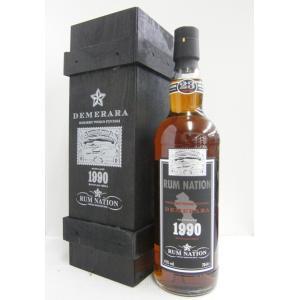 ラムネイション デメララ23年 1990 45% 700ml ラム酒|sakenochawanya