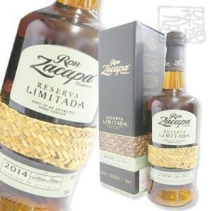ロン サカパ センテナリオ レゼルヴァ リミターダ 2014 45% 700ml ラム酒