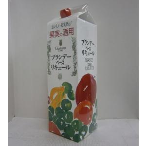 果実の酒用 ブランデーベースリキュール 35% 1.8Lパック|sakenochawanya