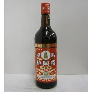 紹興酒 塔牌 花彫 陳五年 16% 600ml リキュール|sakenochawanya