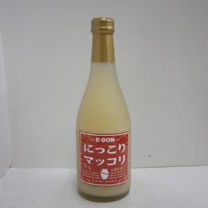 イードン にっこりマッコリ 8% 360ml瓶 1ケース(20本)|sakenochawanya