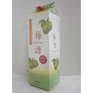 白玉梅酒 ブランデーベース 12% 1800mlパック|sakenochawanya