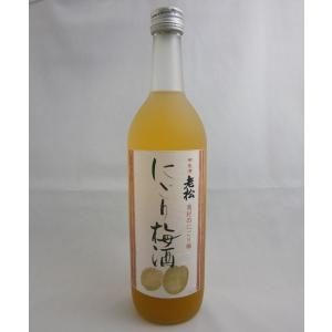 伊丹老松酒造 にごり梅酒 12度 720ml|sakenochawanya