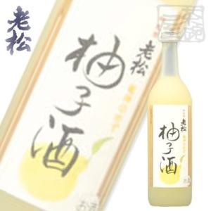 龍神の柚子酒 720ml 8% 伊丹老松 和リキュール|sakenochawanya