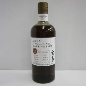ニッカの第一蒸留所、「余市」で作られたシングルモルトウイスキーです。  蒸留所はニッカの創業者、竹鶴...