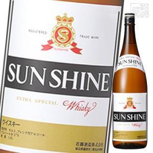 サンシャイン ウイスキー 37度 720ml 若鶴酒造 サンシャインウヰスキー ジャパニーズブレンデッドウイスキー|sakenochawanya