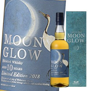 MOON GLOW Limited Edition 2018 43度 700ml ムーングロウ 若鶴酒造 三郎丸蒸留所 ブレンデッドウイスキー|sakenochawanya