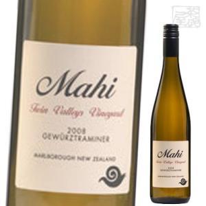 ツイン ヴァレーズ シングル ヴィンヤード ゲヴァルツトラミネール 白ワイン 14度 750ml マヒ ニュージーランド|sakenochawanya