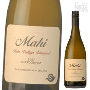 マヒ ツインヴァレーズ シングル ヴィンヤード シャルドネ 白ワイン 14度 750ml ニュージーランド|sakenochawanya
