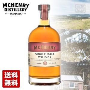 マクヘンリー シングルモルトウイスキー バレル7 44度 500ml オーストラリア 限定品|sakenochawanya